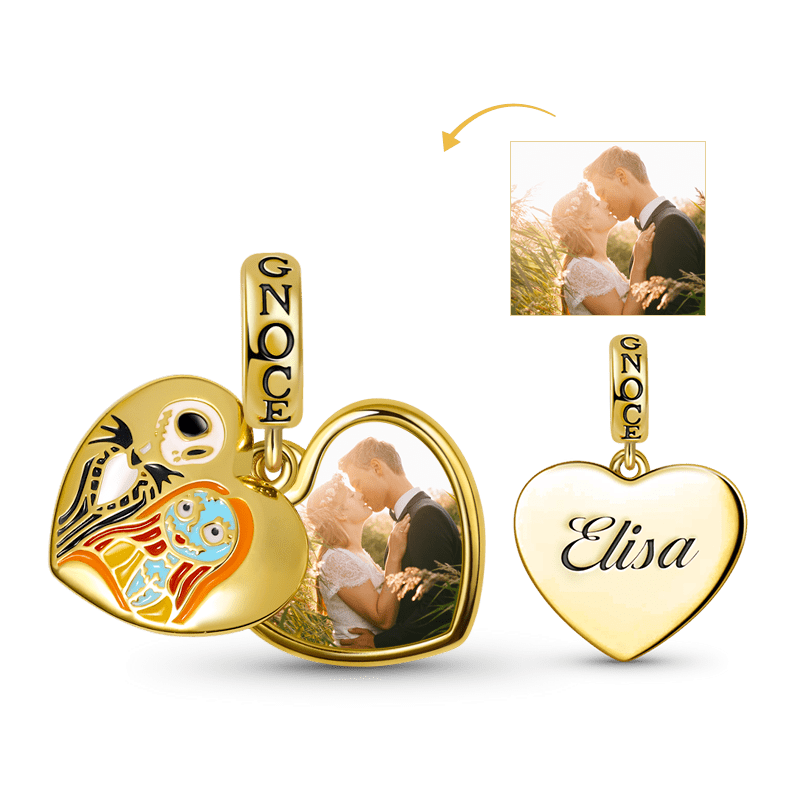 18k Yellow Gold Plated 925 Sterling Silver NICKEL FREE Personalized Jewelry Personalized Heart Tag Necklace Any Fonts Any lettering