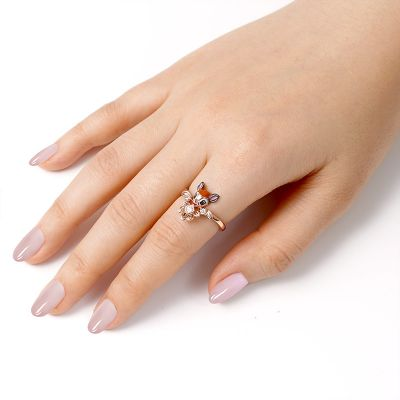 Deer V Ring