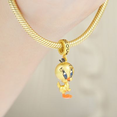 Yellow Canary Pendant