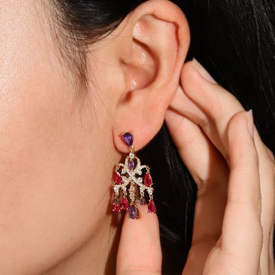 Palace Ball Dangle Earrings