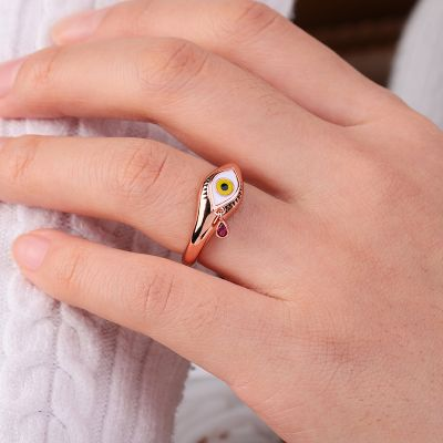 Eye Figure Ring