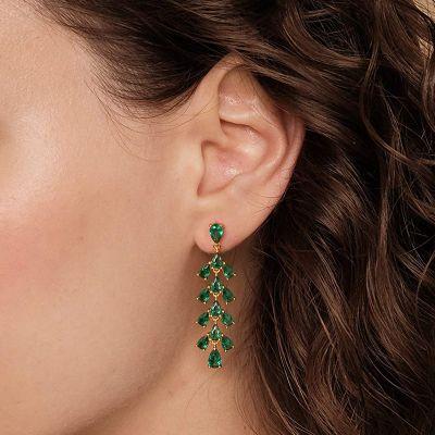 Rainforest Gemstones Dangle