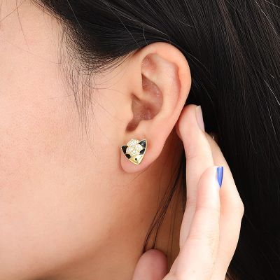 Fish Stud Earrings