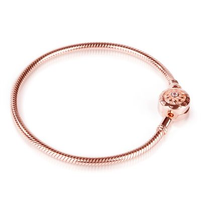 18K Rose Gold Causal Bracelet