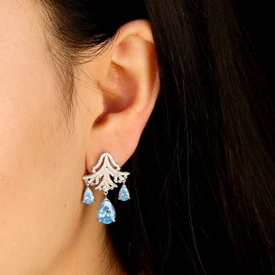 Frozen Drop Earrings