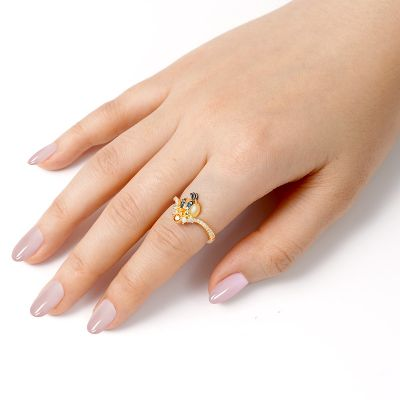 Lovely Bird V Ring