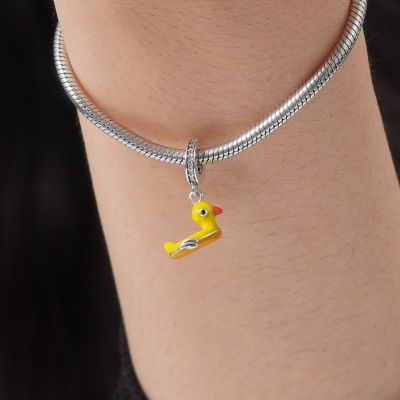 Yellow Duck Pendant
