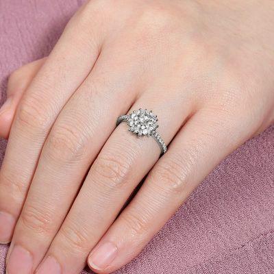 Flower Promise Ring