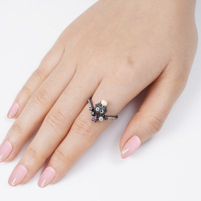 Lovely Briquettes Ring