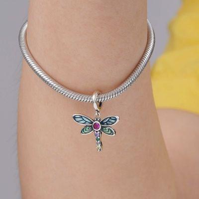 Shiny Dragonfly Pendant