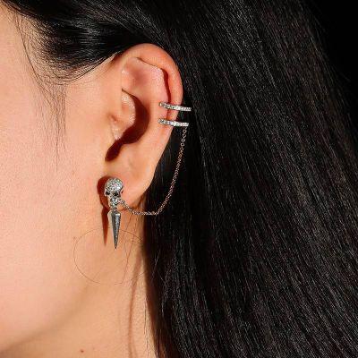 Skull Ear Cuffs