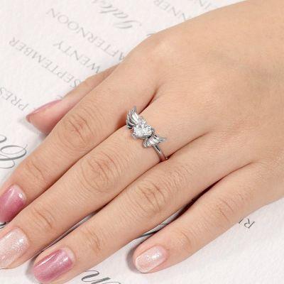 Heart Wings Ring