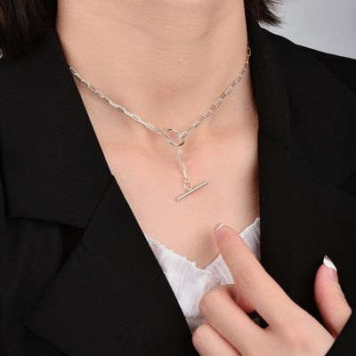 OT Buckle Chain Necklace