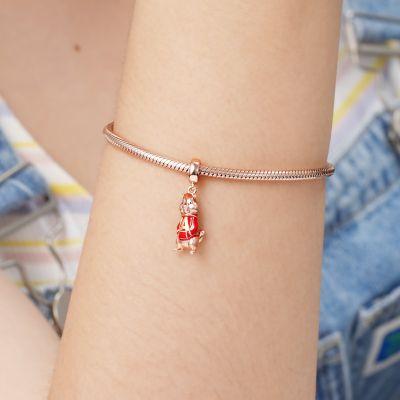 Red Hoody Chipmunk Pendant