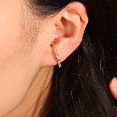Sparkle Ear Cuff Earrings
