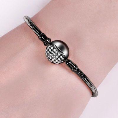 Black Round Shape Bracelet