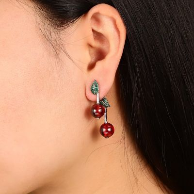 Cherry Dangle Earrings