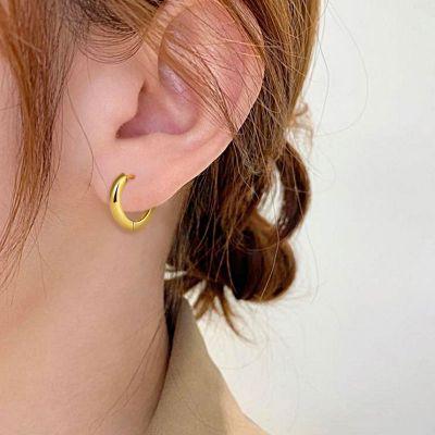 Polished Hoop Earrings