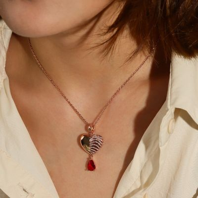 Sternum Heart Necklace