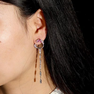 Blossom Wand Dangle Earrings