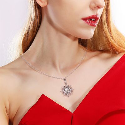 Eight-pointed Star Necklace