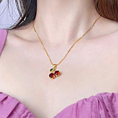 Sweet Cherry Necklace