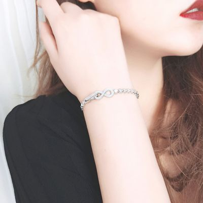 Infinite Tennis Bracelet With