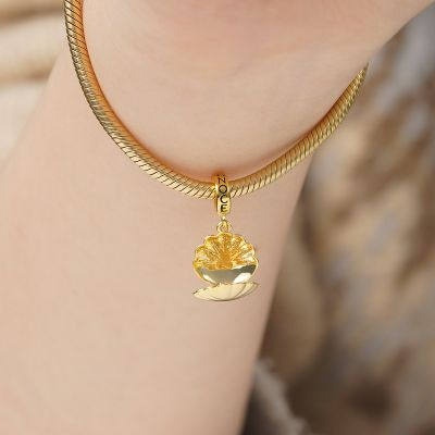 Shell Jewelry Box Pendant