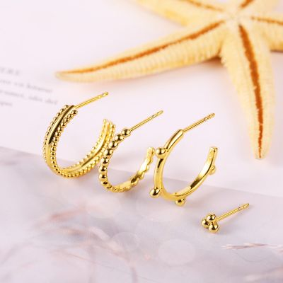 Classic Earring Set 4 Pcs