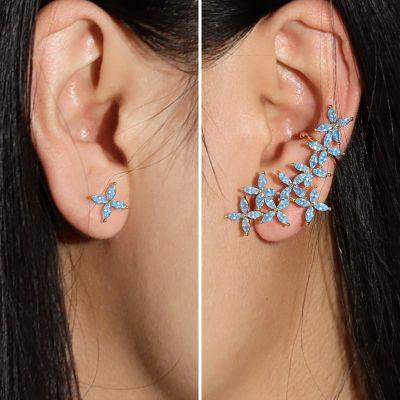 Blue Butterfly Petals Climbers